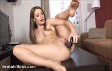 Toying my cunt for an orgasm