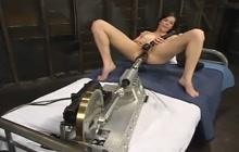 Bobbi Starr enjoy machine fucking